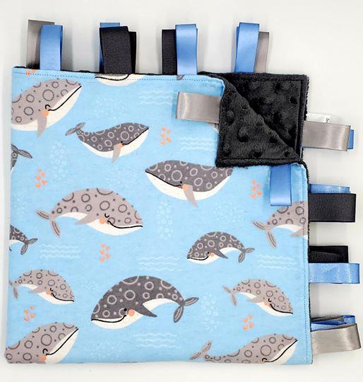 Whale About Dark Grey